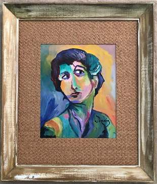 Andre Derain Female Women Fauvism French Portrait .