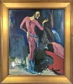 Pablo Picasso Male Blue Rose Era Interior Spanish Oil