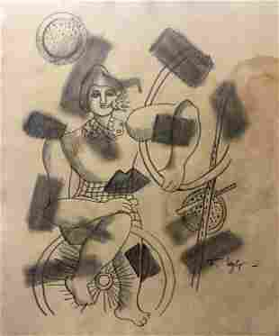 Fernand Leger Cubism Abstract French Art Drawing