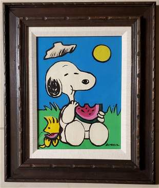 Charles Schulz Pop Comic American Charly Brown Snoopy
