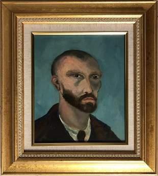 Vincent Van Gogh Self Portrait Dutch Impressionist Male