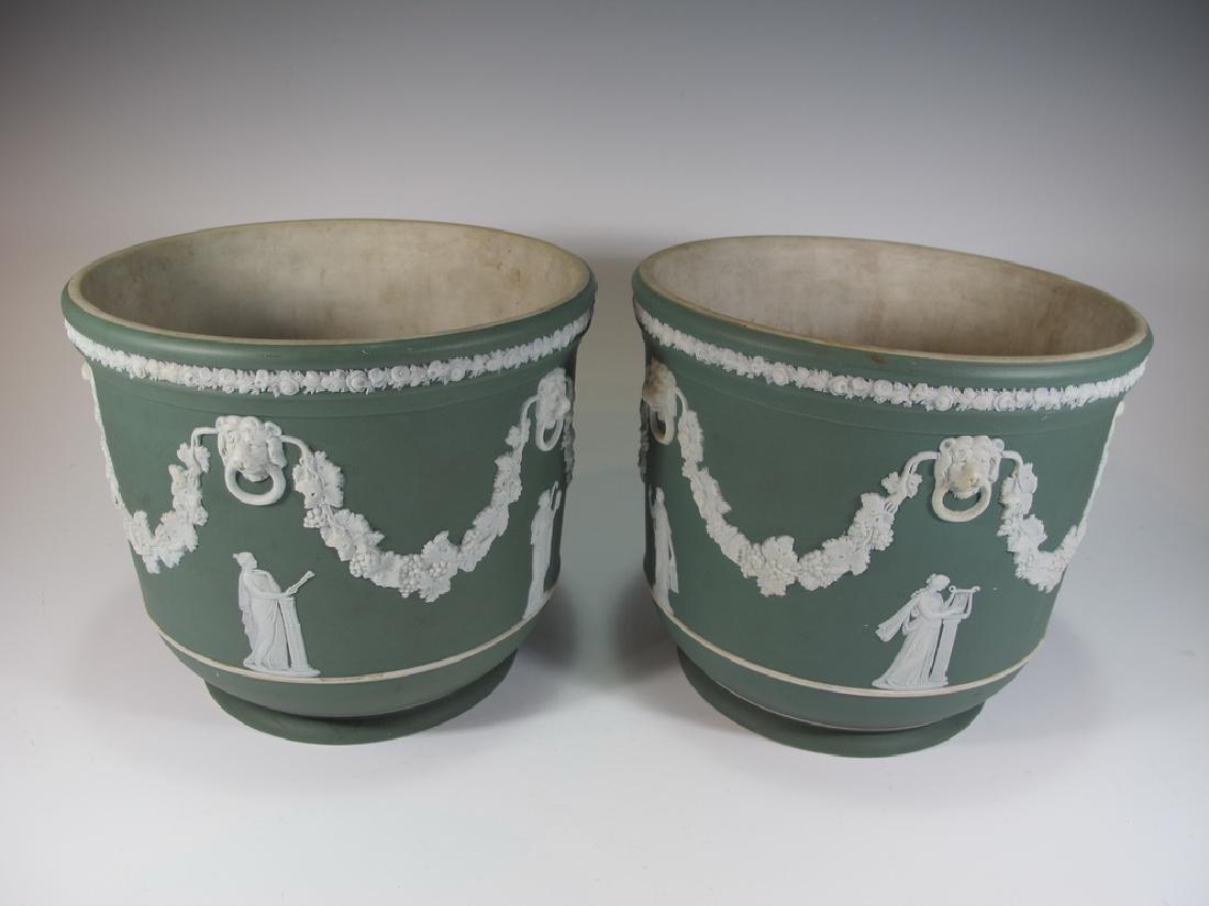 Antique English Wedgwood porcelain Vases