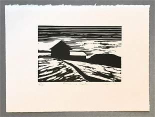 Marie Cole, 'Farm in Winter'