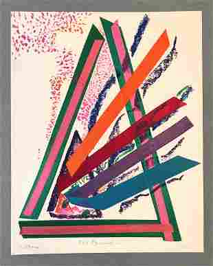 Wendy Faris, 'Fire Pyramid'