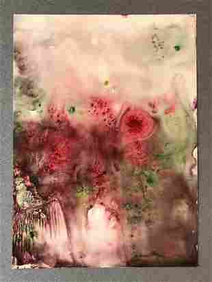 Michelle Moran, 'Roses in the Mist'