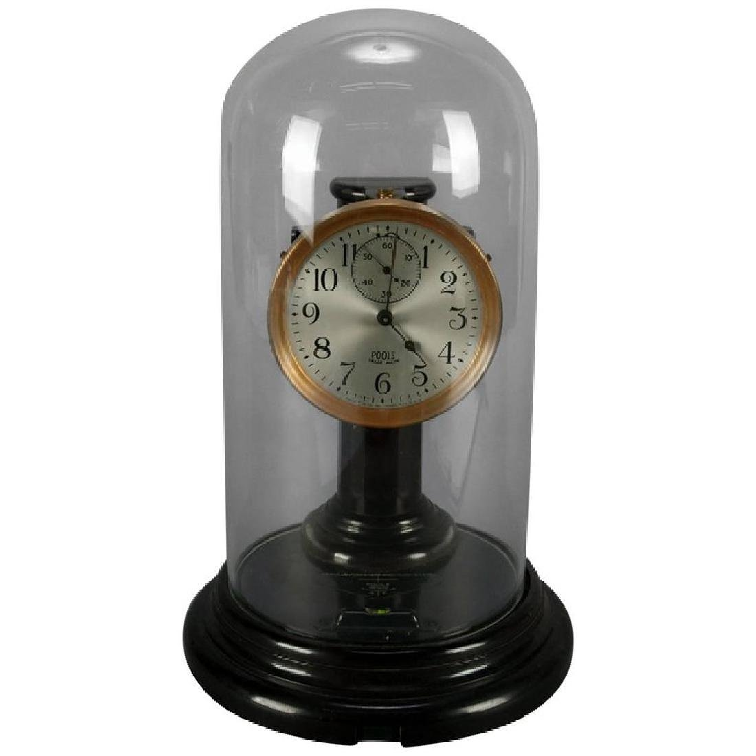 Bakelite Battery Operated Impulse Dome Clock by Poole