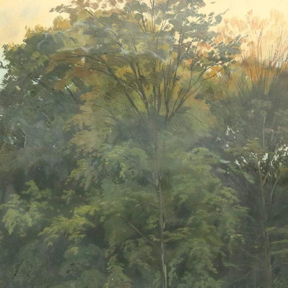 Hudson River School Impressionist Landscape Painting - 2