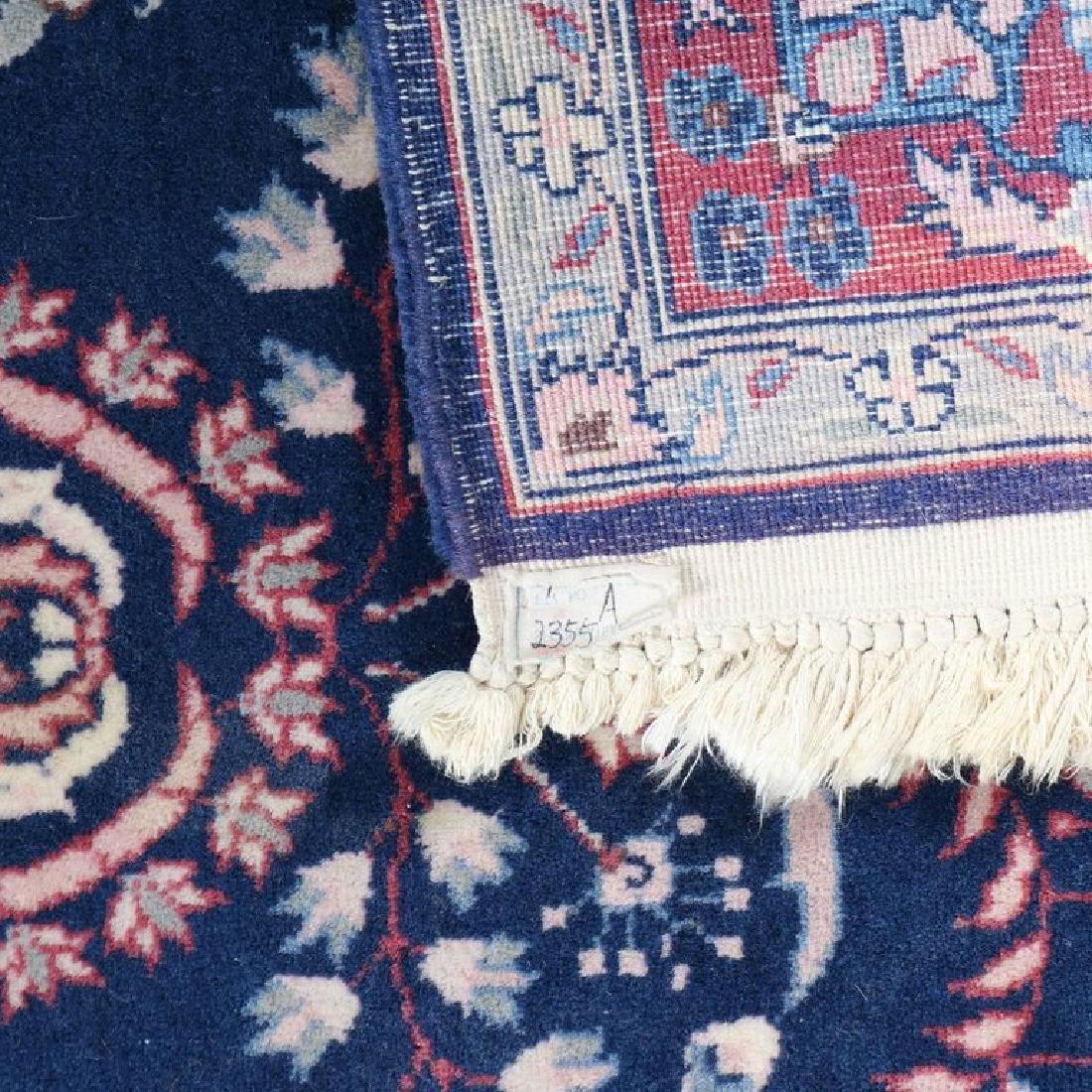 "Vintage Persian Sarouk Floral Oriental Rug 76.5"" x 49"" - 10"