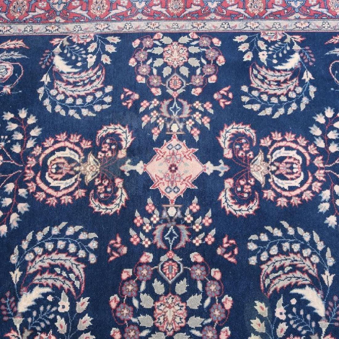 "Vintage Persian Sarouk Floral Oriental Rug 76.5"" x 49"" - 2"