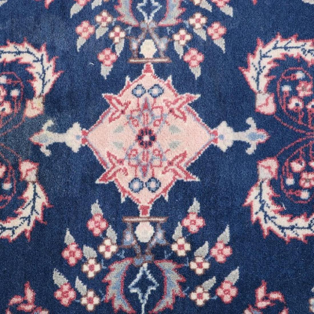 "Vintage Persian Sarouk Floral Oriental Rug 76.5"" x 49"" - 3"