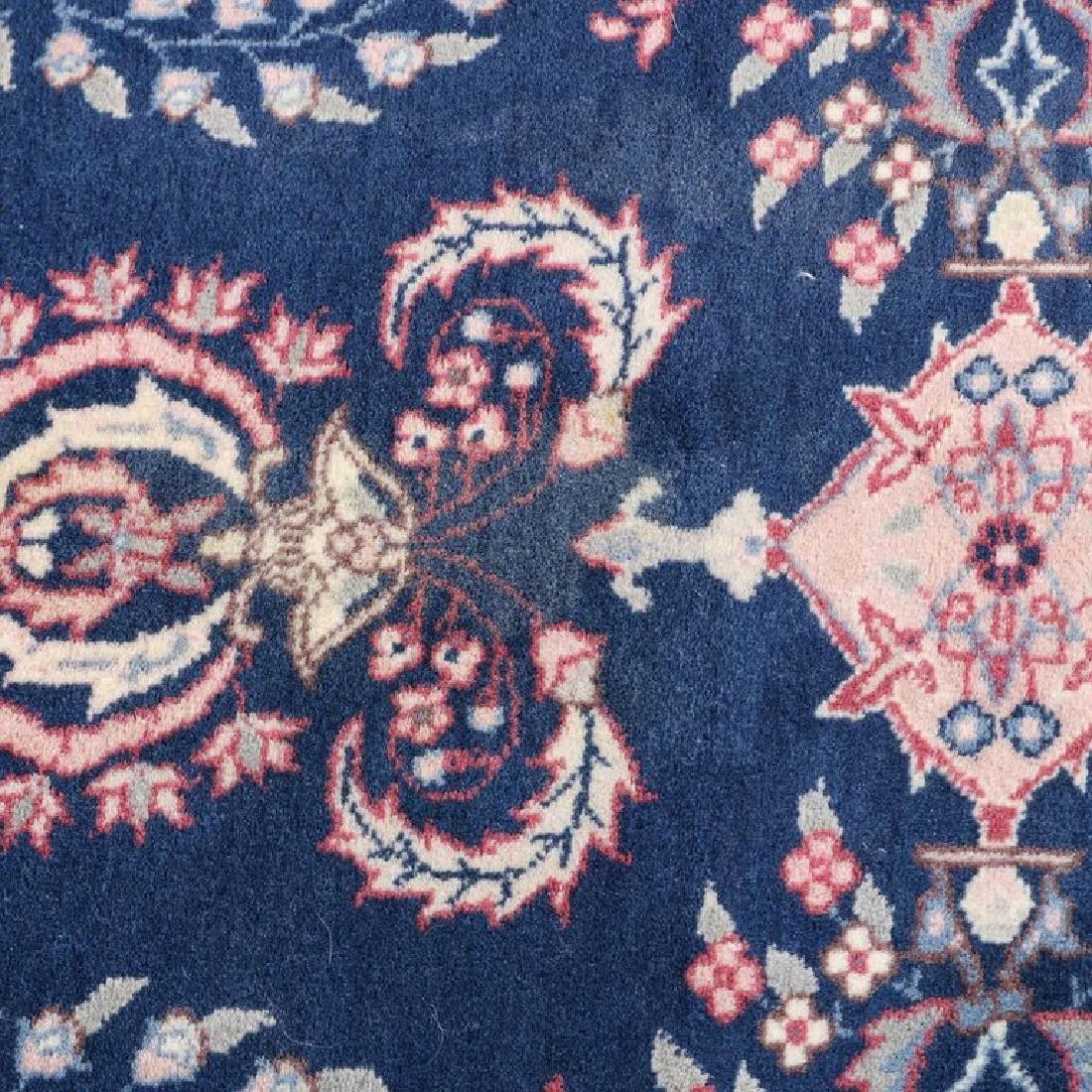 "Vintage Persian Sarouk Floral Oriental Rug 76.5"" x 49"" - 4"