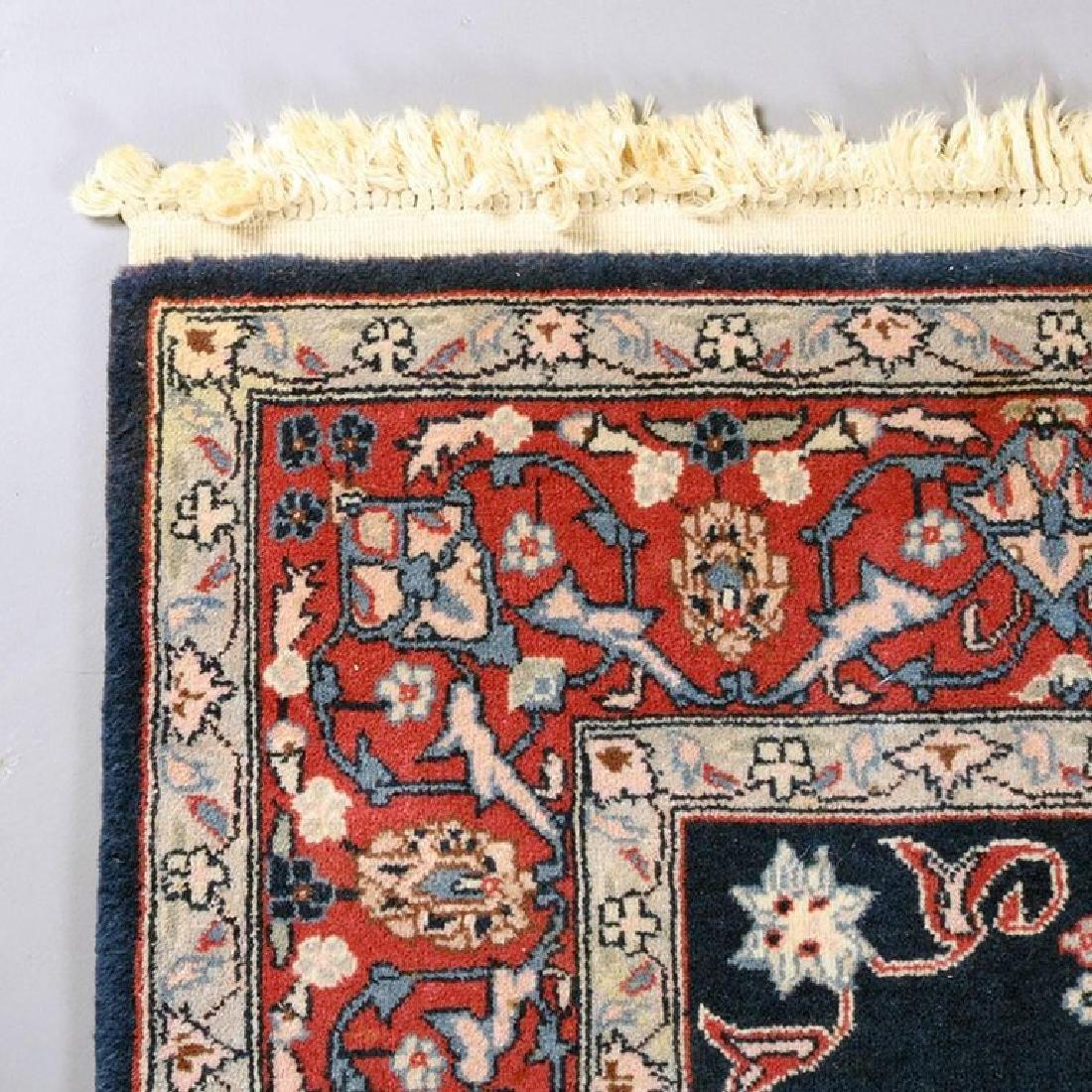 "Vintage Persian Sarouk Floral Oriental Rug 76.5"" x 49"" - 5"