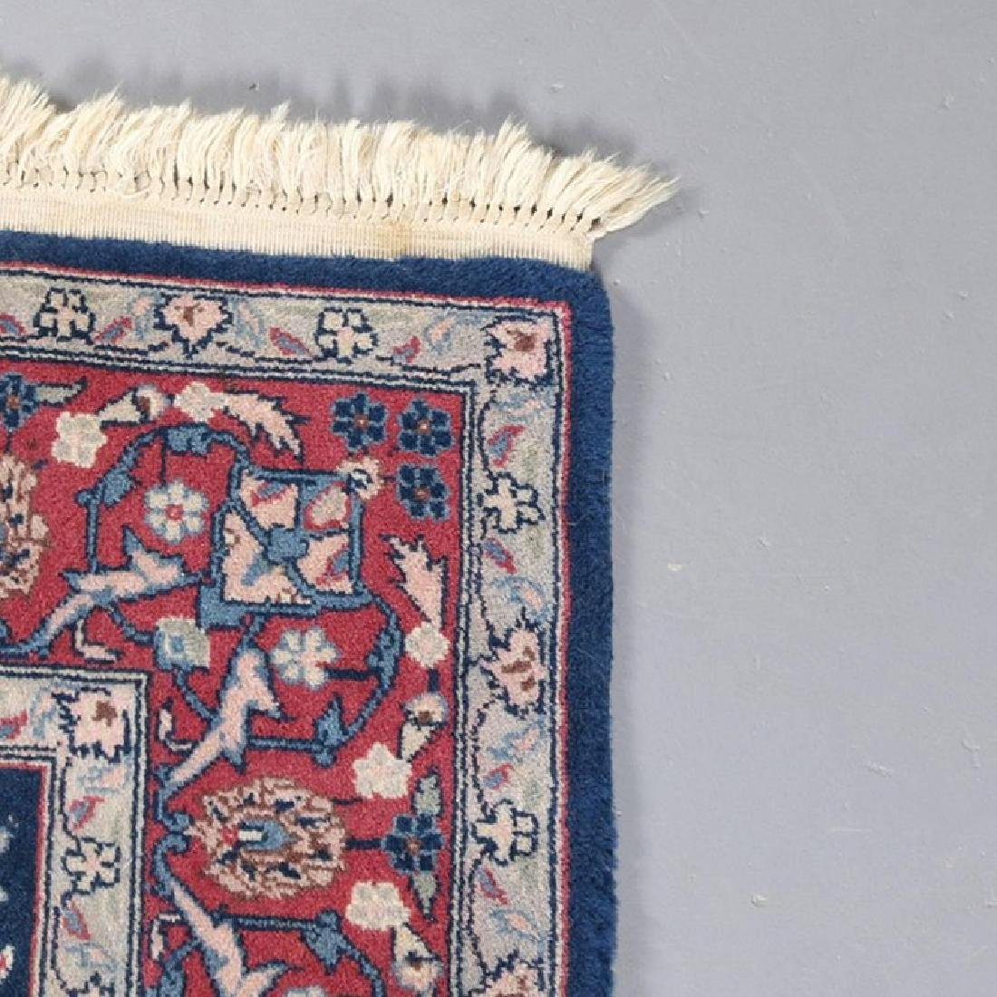 "Vintage Persian Sarouk Floral Oriental Rug 76.5"" x 49"" - 6"