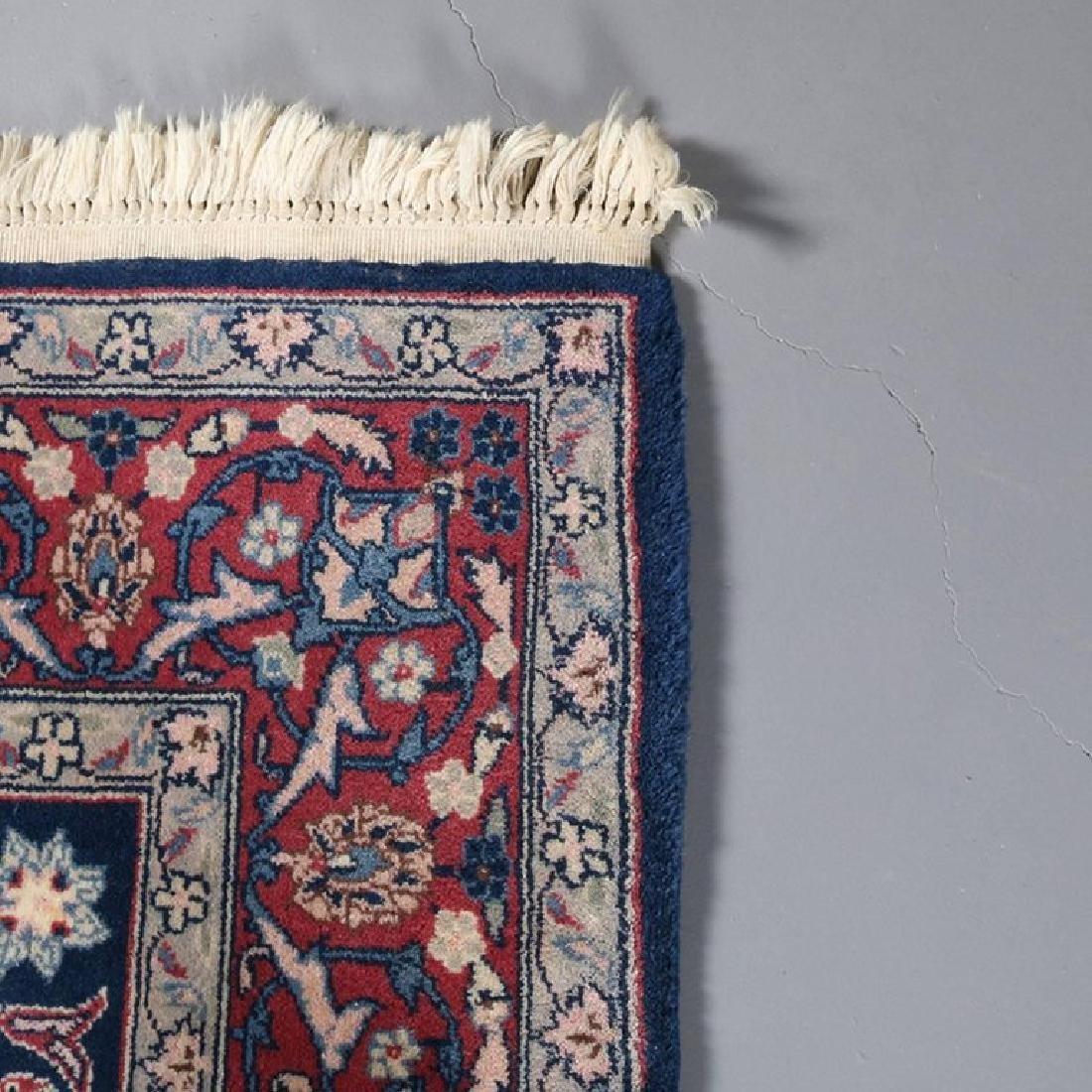 "Vintage Persian Sarouk Floral Oriental Rug 76.5"" x 49"" - 7"