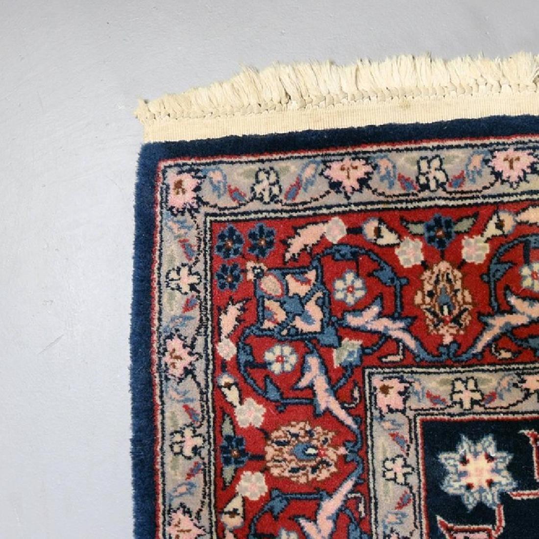 "Vintage Persian Sarouk Floral Oriental Rug 76.5"" x 49"" - 8"