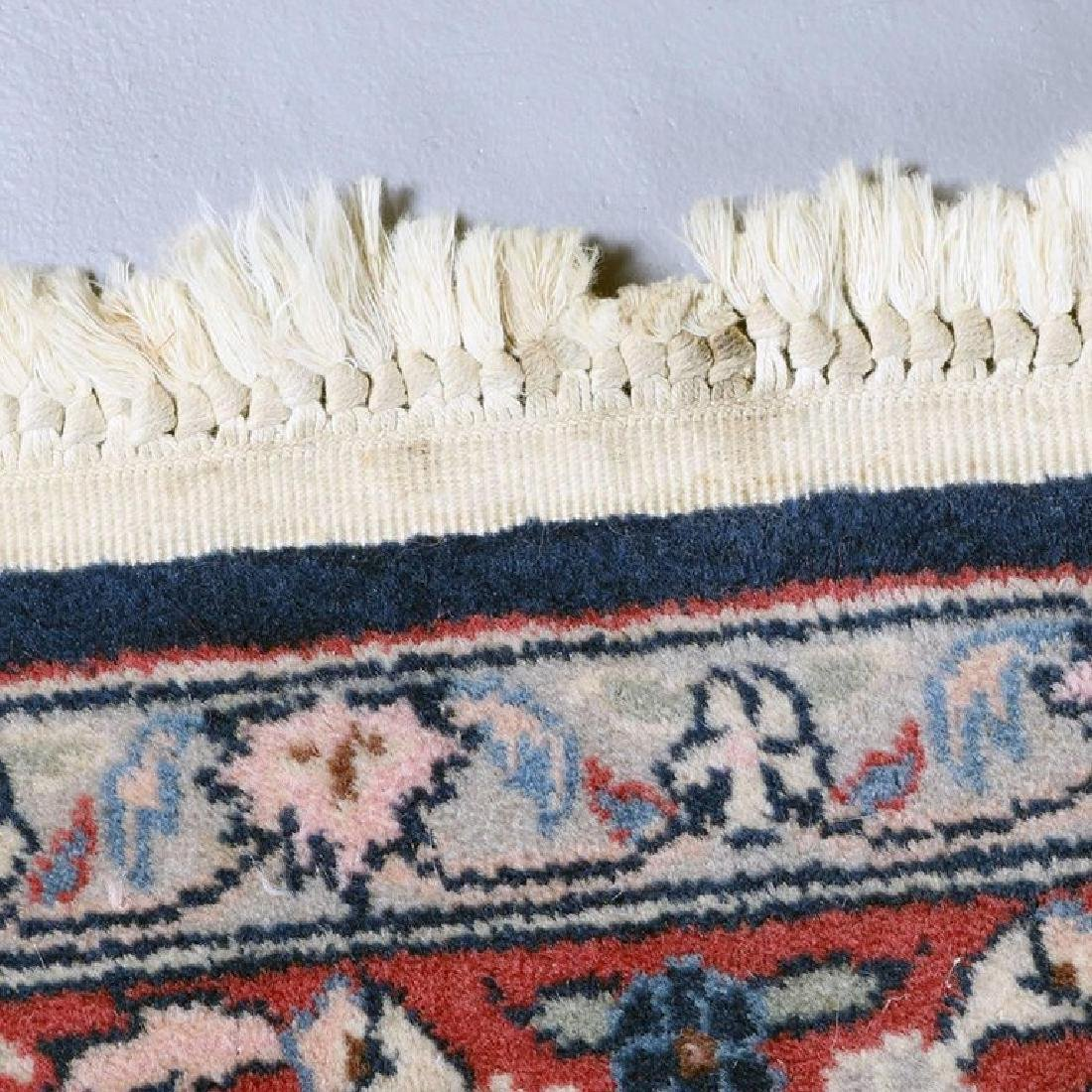 "Vintage Persian Sarouk Floral Oriental Rug 76.5"" x 49"" - 9"
