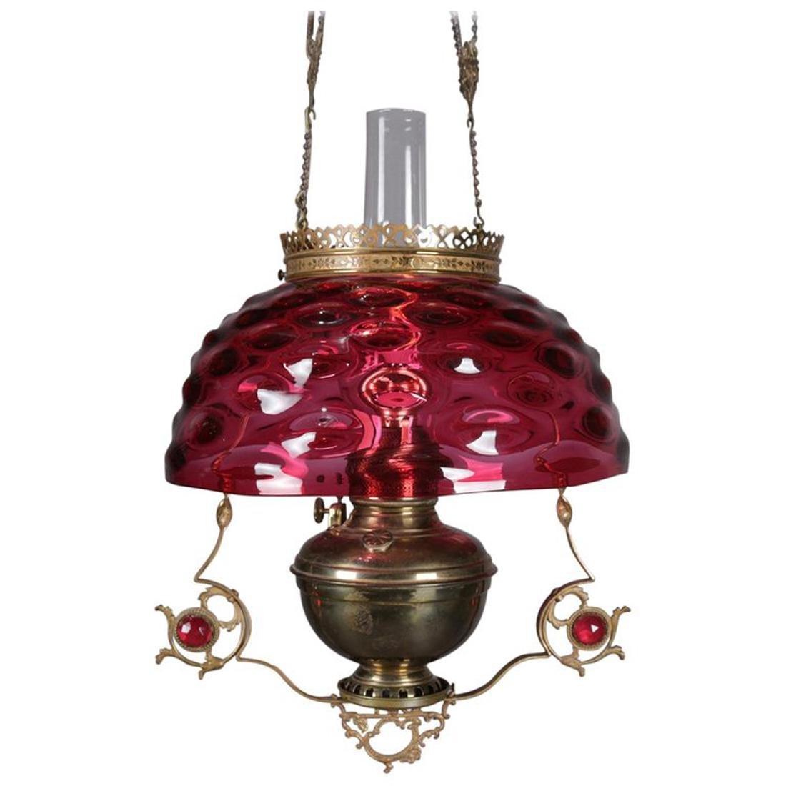 Details about 000 Large Vintage Brass Beveled Glass Chandelier Entry Way 36