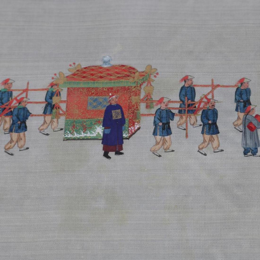 Antique Chinese Zhou Pei-Chun Ink & Color on Silk - 5