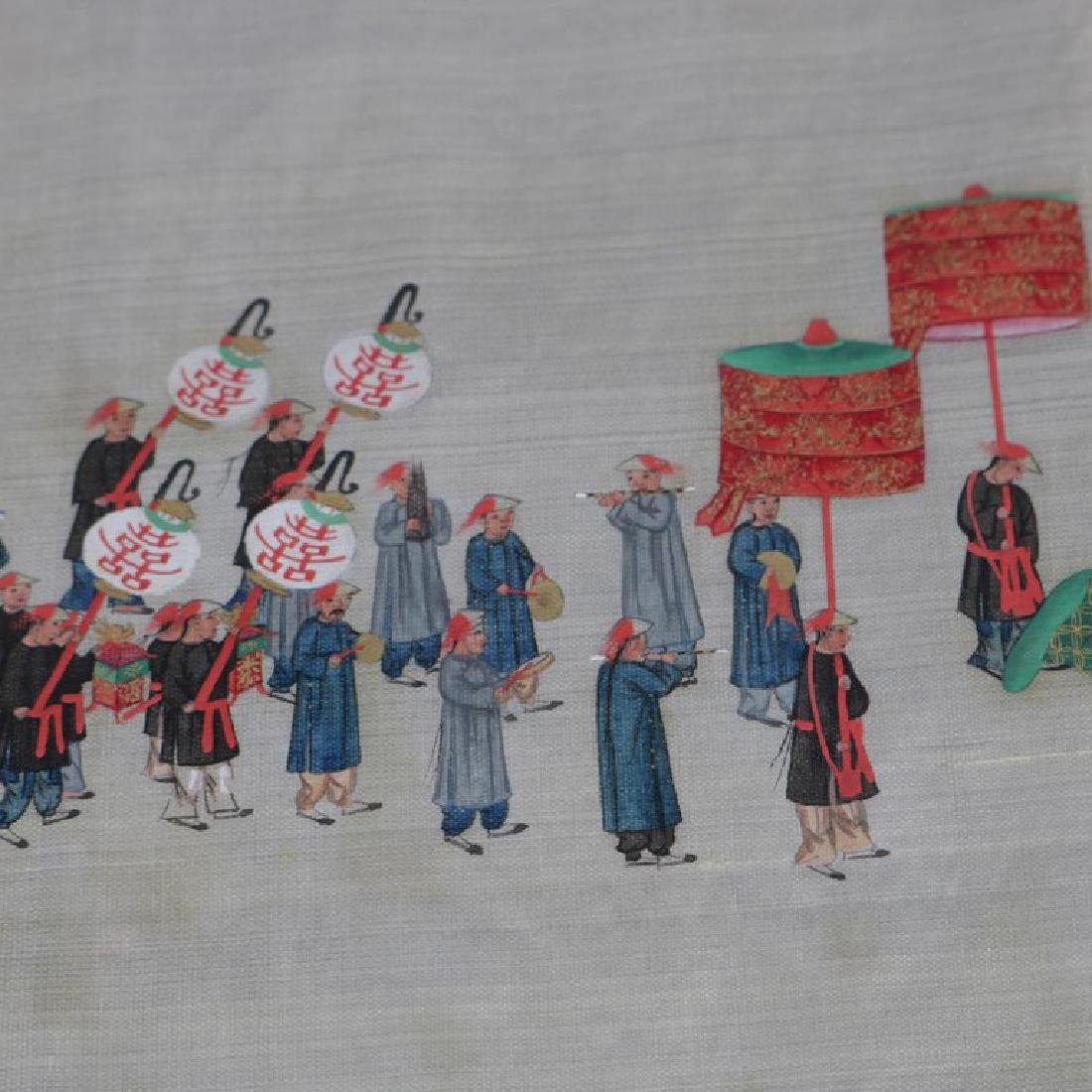 Antique Chinese Zhou Pei-Chun Ink & Color on Silk - 6