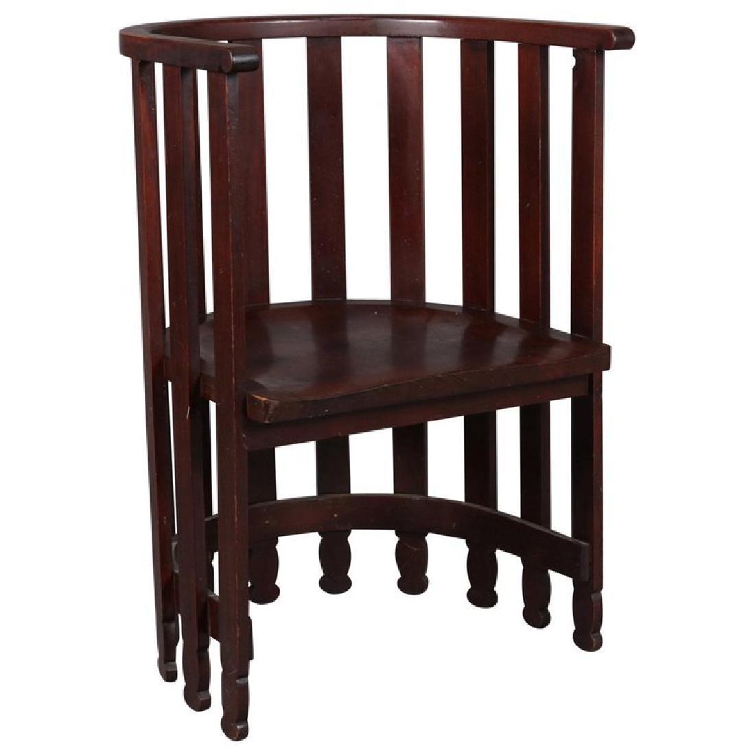 Arts & Crafts Prairie Frank Lloyd Wright School Chair