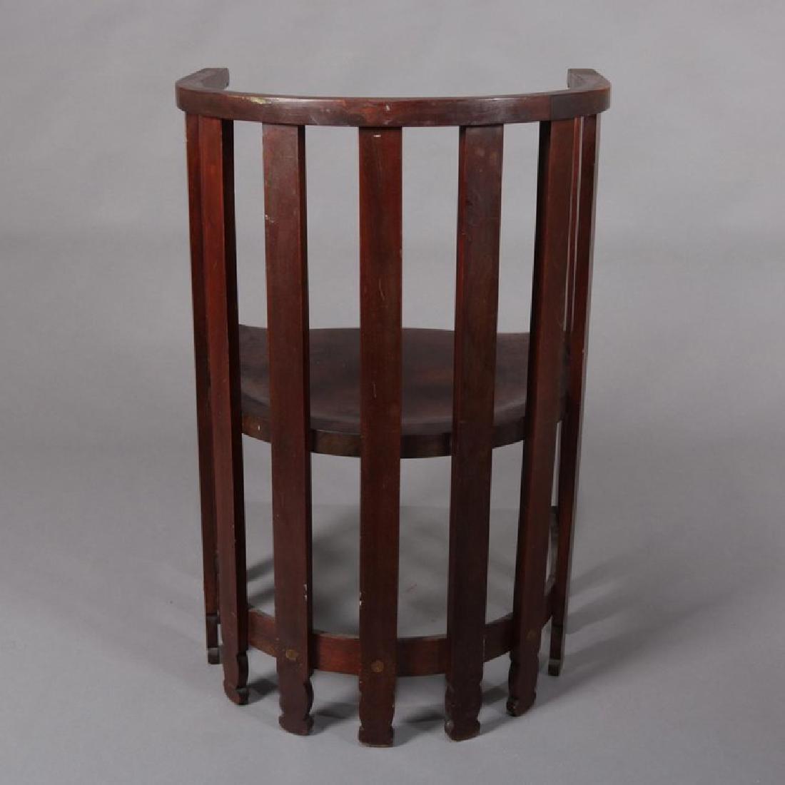 Arts & Crafts Prairie Frank Lloyd Wright School Chair - 2