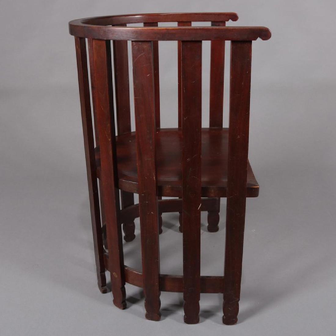 Arts & Crafts Prairie Frank Lloyd Wright School Chair - 6