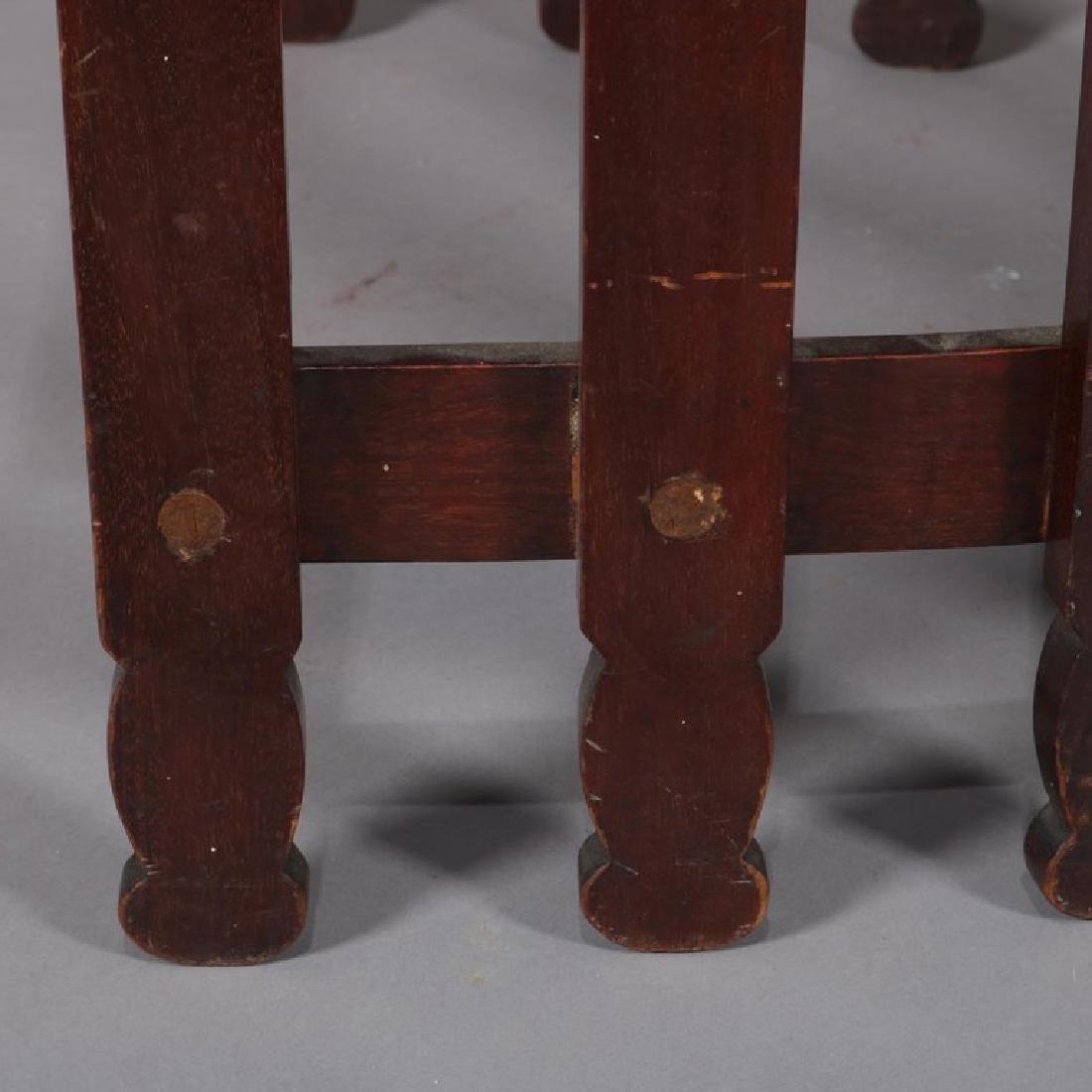 Arts & Crafts Prairie Frank Lloyd Wright School Chair - 7