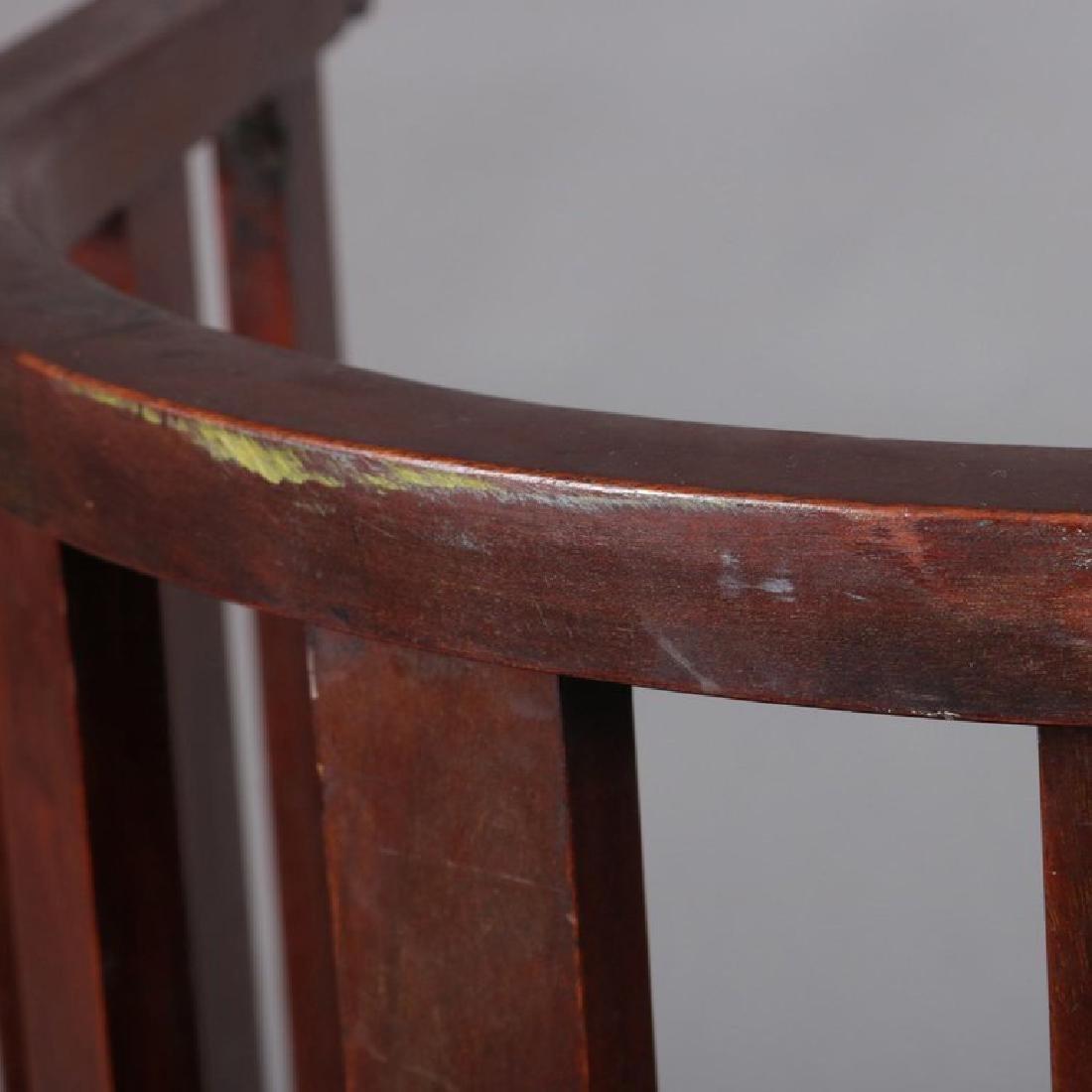 Arts & Crafts Prairie Frank Lloyd Wright School Chair - 8