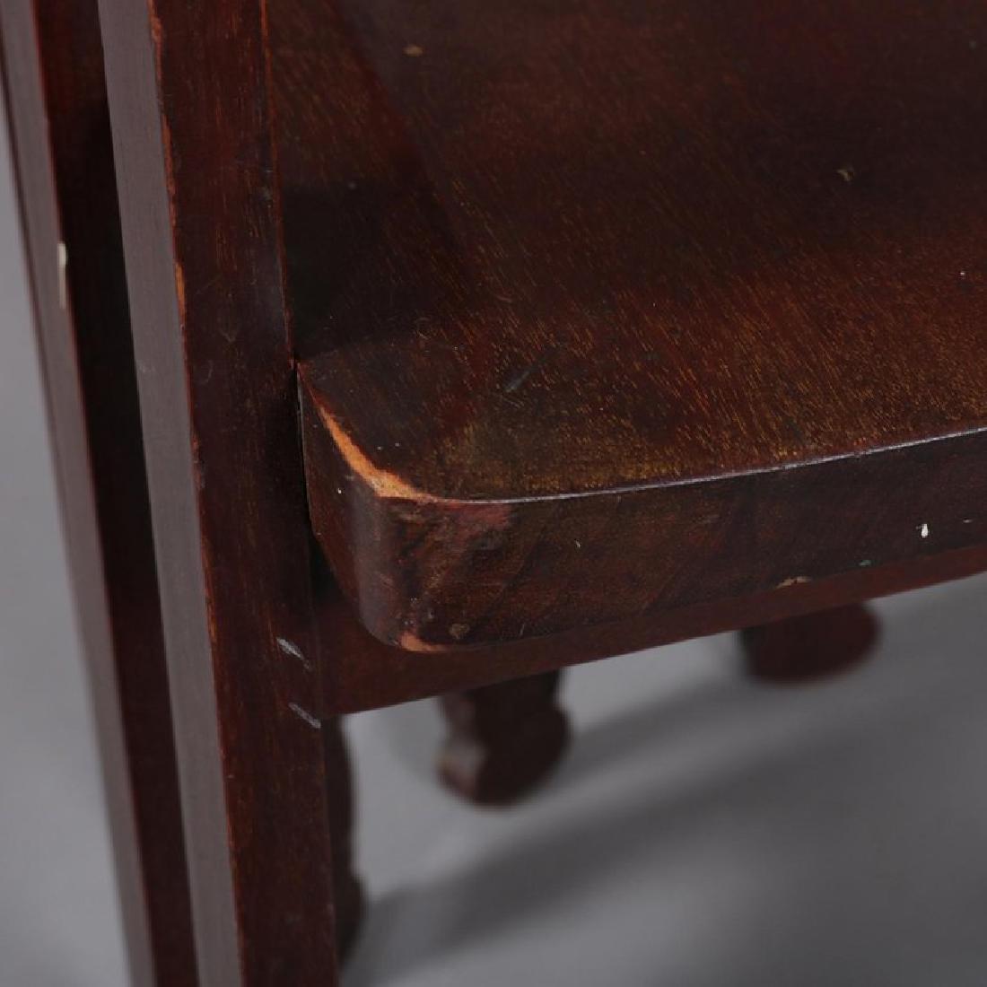 Arts & Crafts Prairie Frank Lloyd Wright School Chair - 9