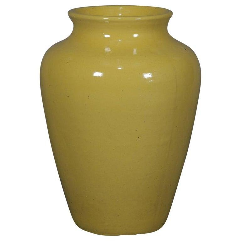 Vintage RRPCOl Art Pottery Floor Vase 20thC