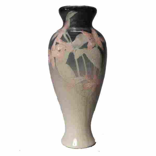 Olga Geneva Reed for Rookwood Iris Glazed Vase