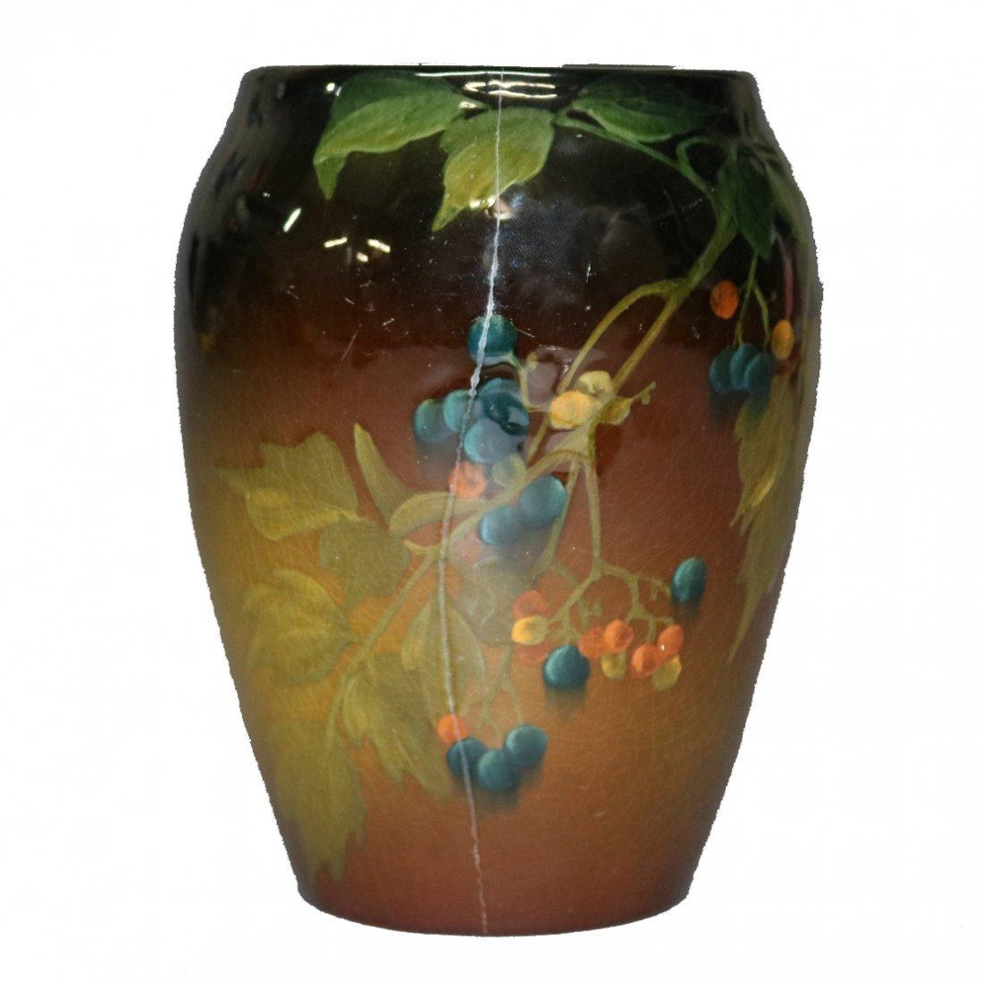 Edith Noonan for Rookwood Standard Glaze Fruit & Floral