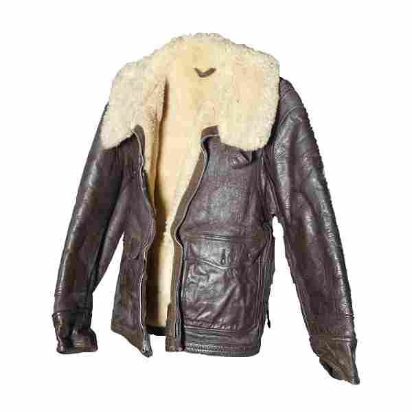 Authentic WWII US Military Leather Flight Jacket