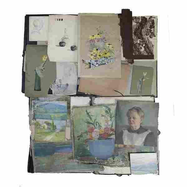 Original Work Arthur & Patty Conant Portfolio, Rookwood