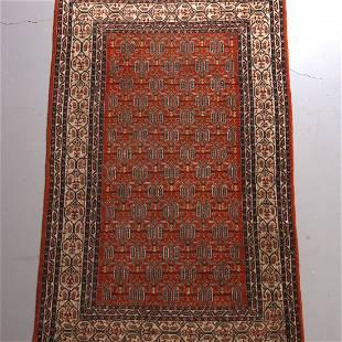Persian Serebend Style Area Rug 20th C