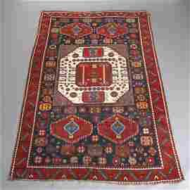 19th C Caucasian Karachov Kazak Oriental Rug