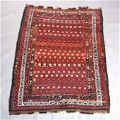 Antique Persian Afshar Oriental Rug