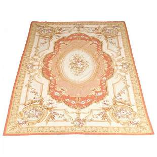 Antique French Aubusson Needlepoint Rug, 20th C