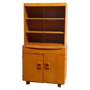 MCM Heywood Wakefield Isabel Breakfront Cabinet, 20th C