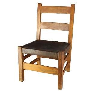 Arts & Crafts Gustav Stickley Childs Chair No 342 c1910