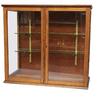 Antique Country Store Counter Top Display Cabinet c1900