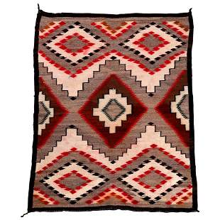 Rug in the Manner of Ganado Navajo Rug 60x46 20th C