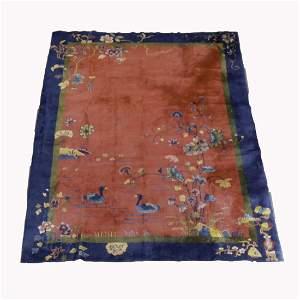 Art Deco Nichols Chinese Carpet 140x107 c1930