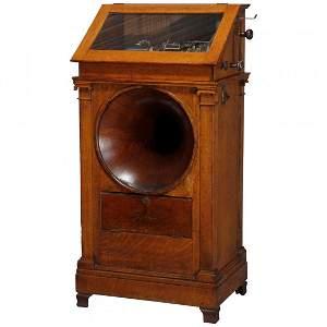 Regina Hexaphone Coin Operated Cylinder Music Box