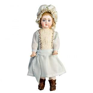 "Antique C&M Fashion Doll, 20""h"
