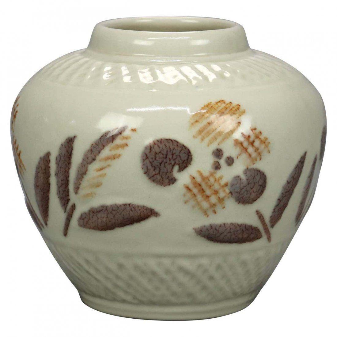 Arts & Crafts Rookwood High Gloss Art Pottery Pot, 1945