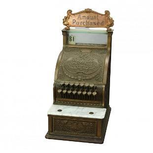 Model 313 National Cash Register, Candy or Barber Shop