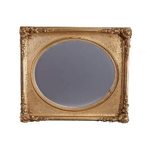 First Finish Giltwood French Louis XV Style Mirror