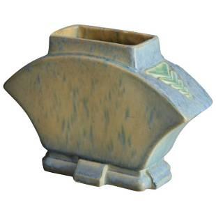 Vintage Roseville Futura Art Pottery Buttress Vase