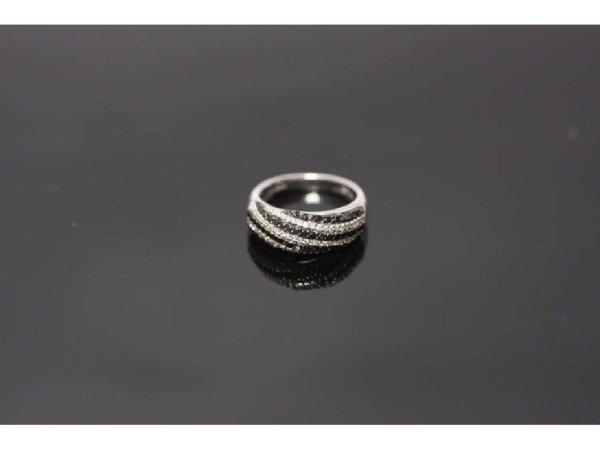 13: 18K HEAVY PAVE DIAMOND RING SET